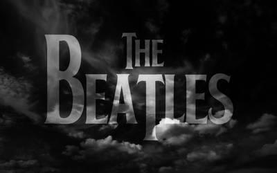 Beatles BW Wallpaper