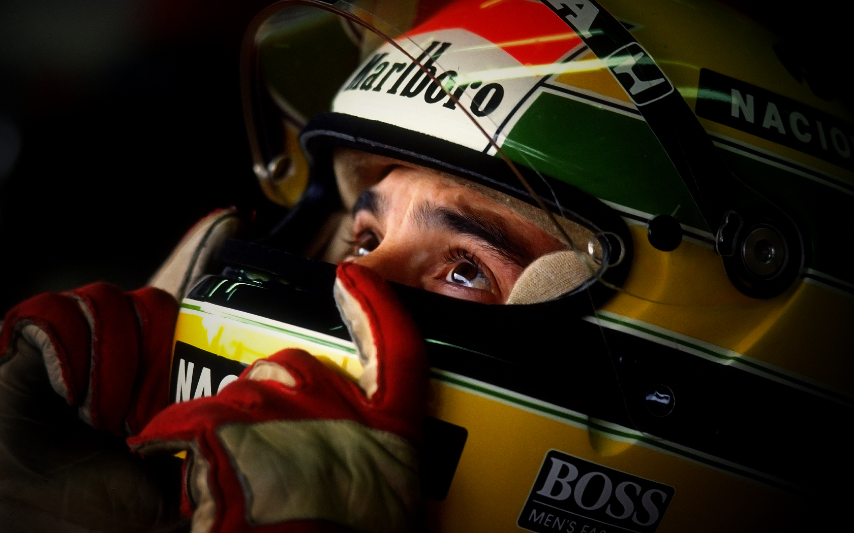 Ayrton Senna Wallpaper-3 by JohnnySlowhand