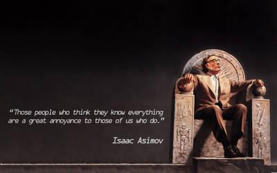 Isaac Asimov Wallpaper