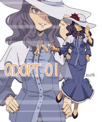 [ AUCTION   OPEN ] BnHA - Adopt 01 by Jeca96