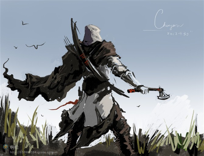 Assassins Creed 3 Connor By Chenjunnn On Deviantart