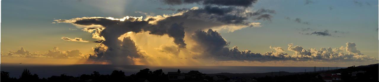 Big Sky sunset
