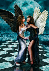 Black and White Angels