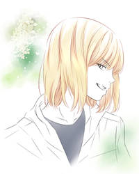 [Death Note] Mello and Golden by kanami7