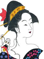 After Chokosai Eisho, Motozue of the Daimonjiya