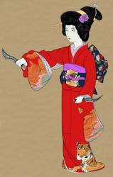 After Uemura Shen, Noh Dance Prelude (1936)