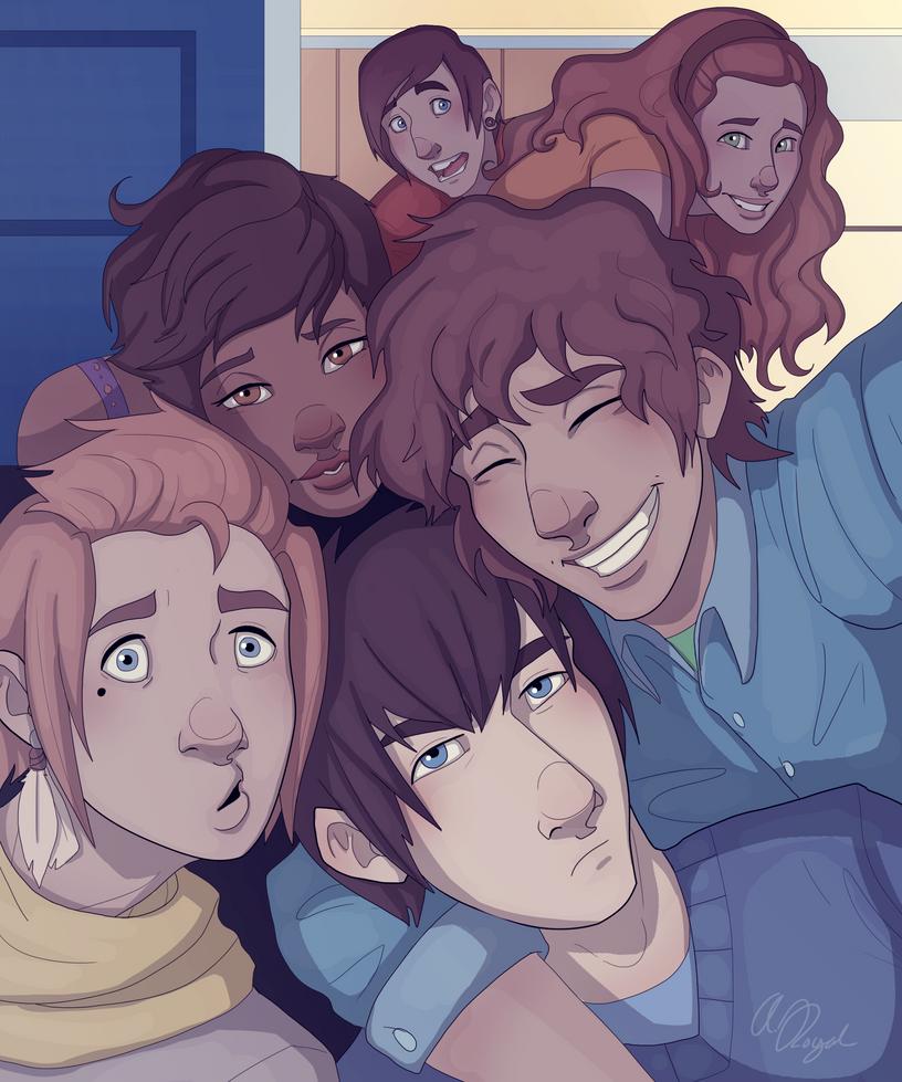 Selfie by Nemo-7