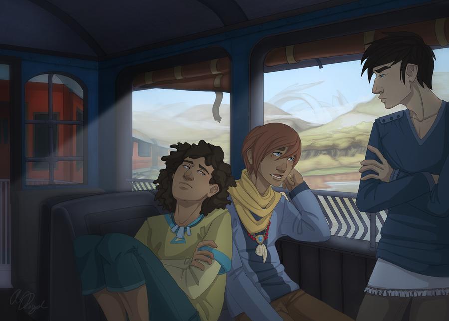 Train Ride by Nemo-7