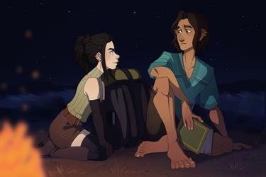 Campfire by Nemeaux
