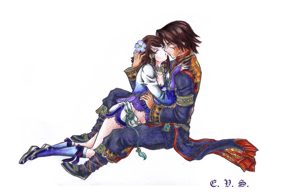 Xianghua and Kilik by evs-eme on DeviantArt