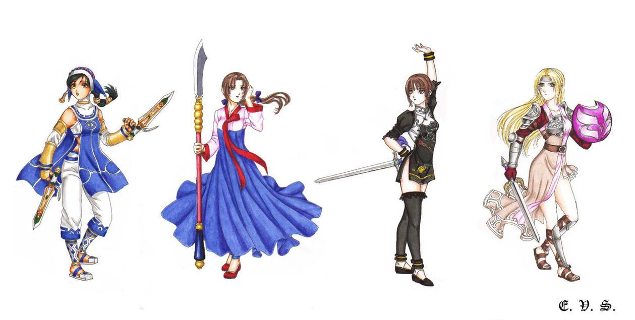 Cassandra Soul Calibur Alternate Costumes