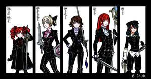 SCIV Black Suits - part I