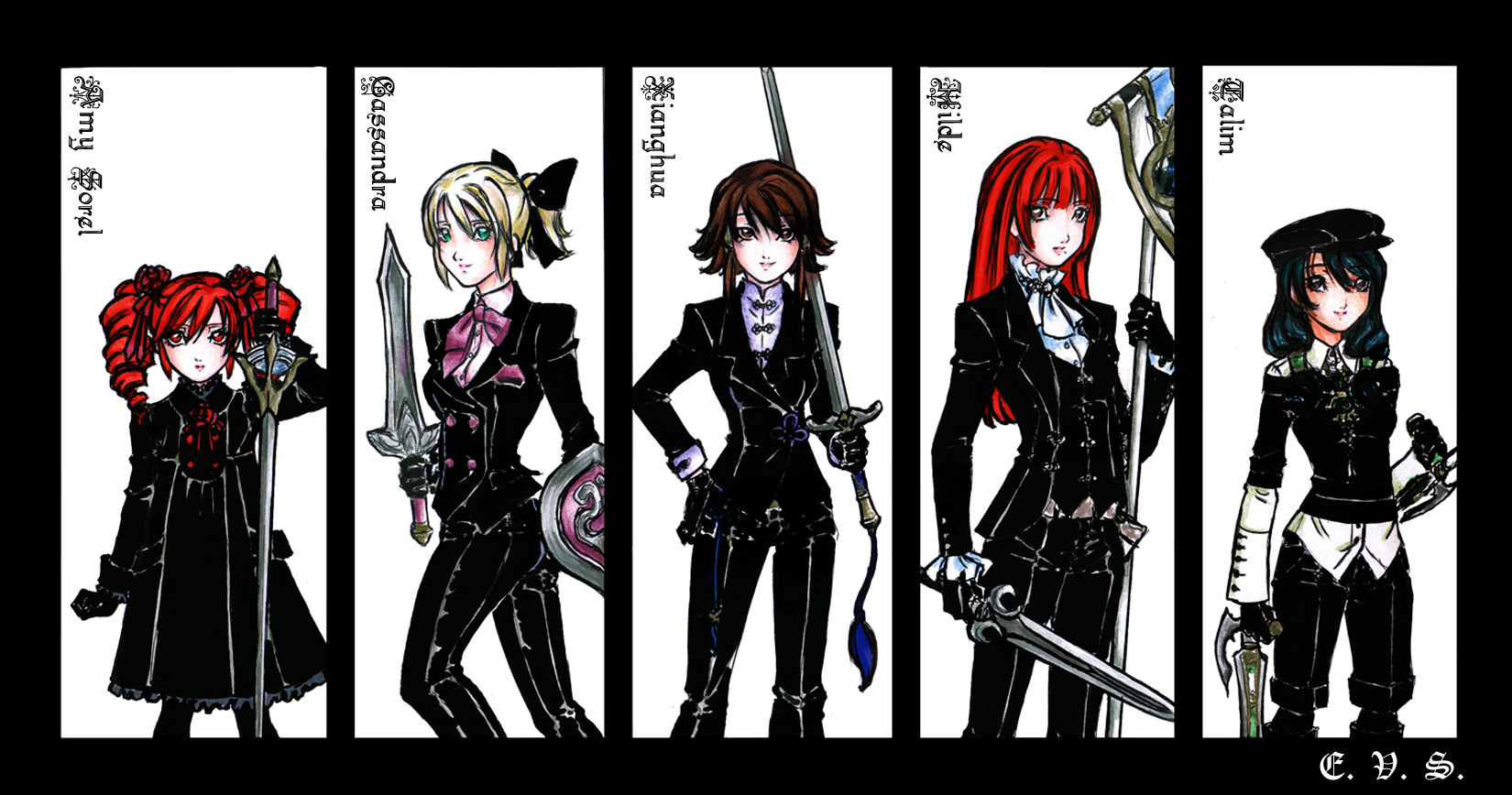 SCIV Black Suits - part I by evs-eme