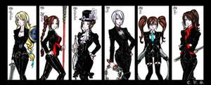 SCIV Black Suits - part II