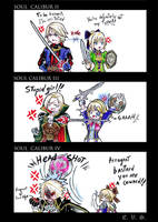 Cassandra vs Raphael by evs-eme