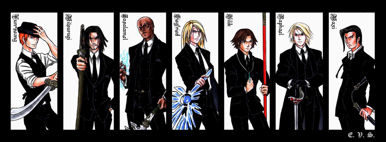 SCIV Black Suit - part III by evs-eme