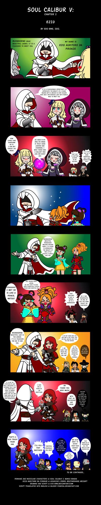 Soul Calibur V- chapter II: Ezio by evs-eme