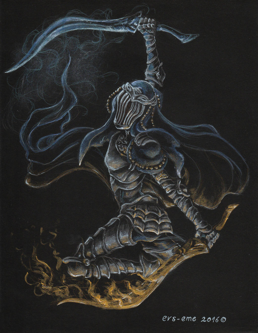 Dancer of the Boreal Valley - Dark Souls 3 by evs-eme