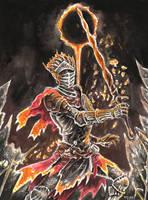 Soul of Cinder - Dark Souls 3 by evs-eme