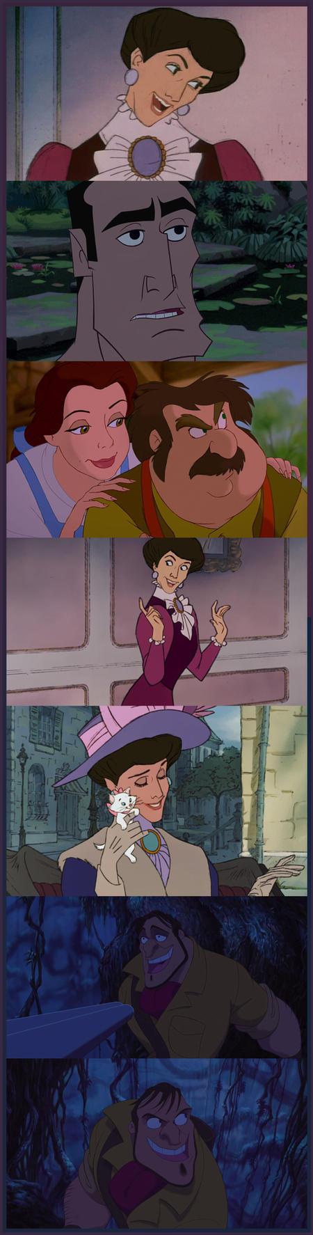Disney character rejuvenation by pitchblack1994
