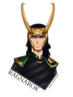 Loki Ragnarok by pitchblack1994