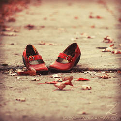 A red shoes adventure