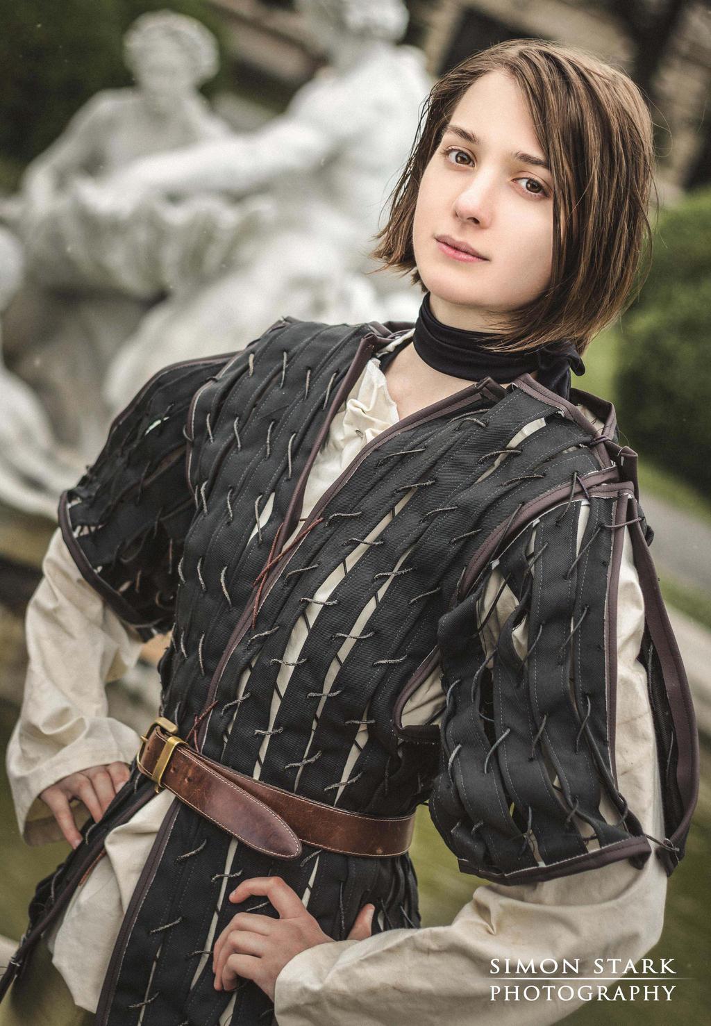 Arya Stark by SilverGrayDash