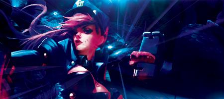League of Legends: Officer Vi by Nightfall1007 on DeviantArt
