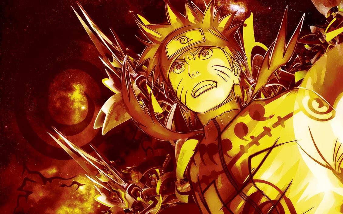 Naruto Shippuden: Nine Tails Chakra Mode by Nightfall1007 ...