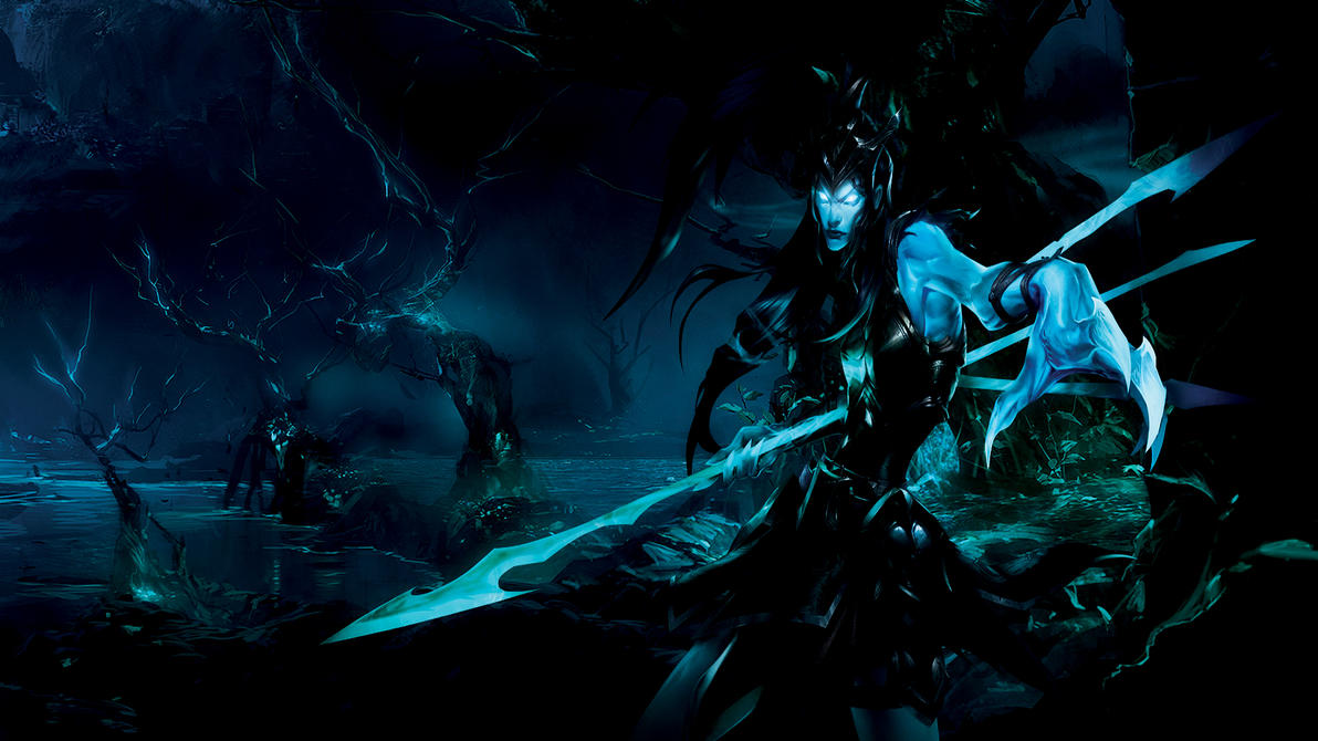 Kalista League Of Legends Minimalist Wallpaper By: League Of Legends: Kalista, The Spear Of Vengeance By