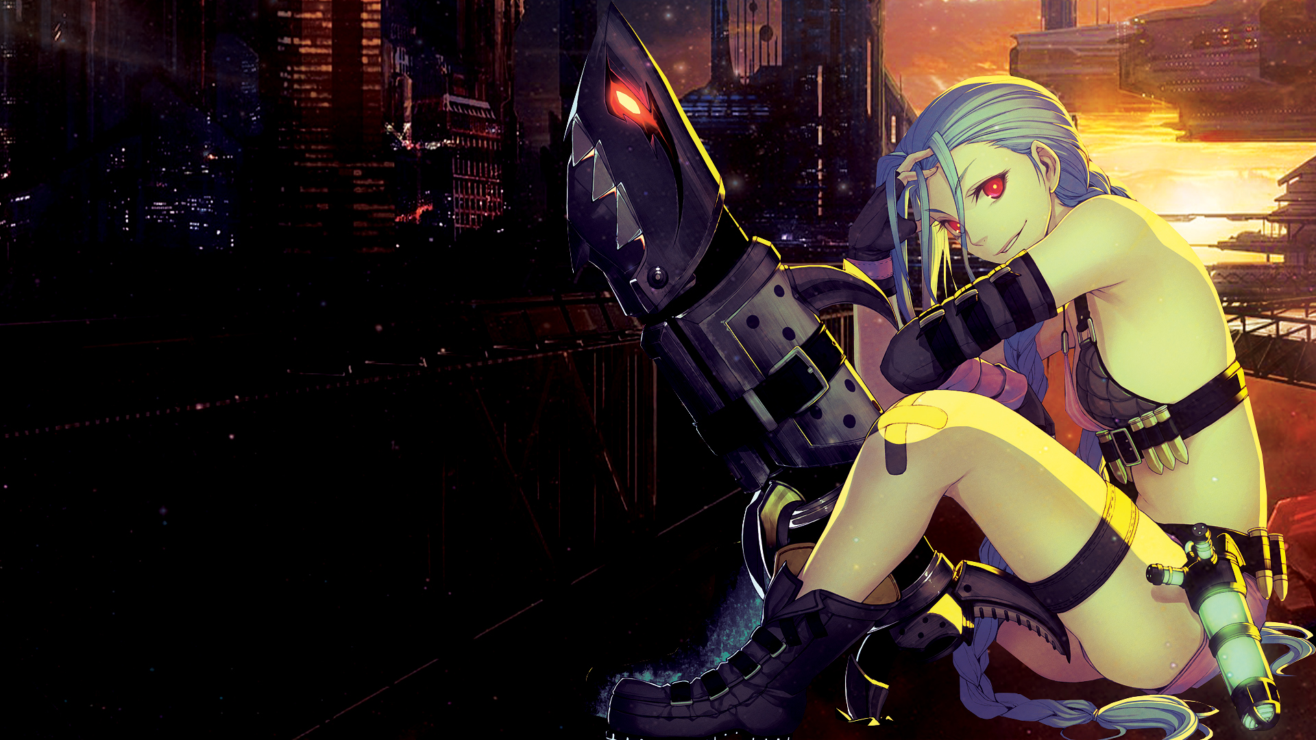 League Of Legends Jinx The Loose Cannon By Nightfall1007 On