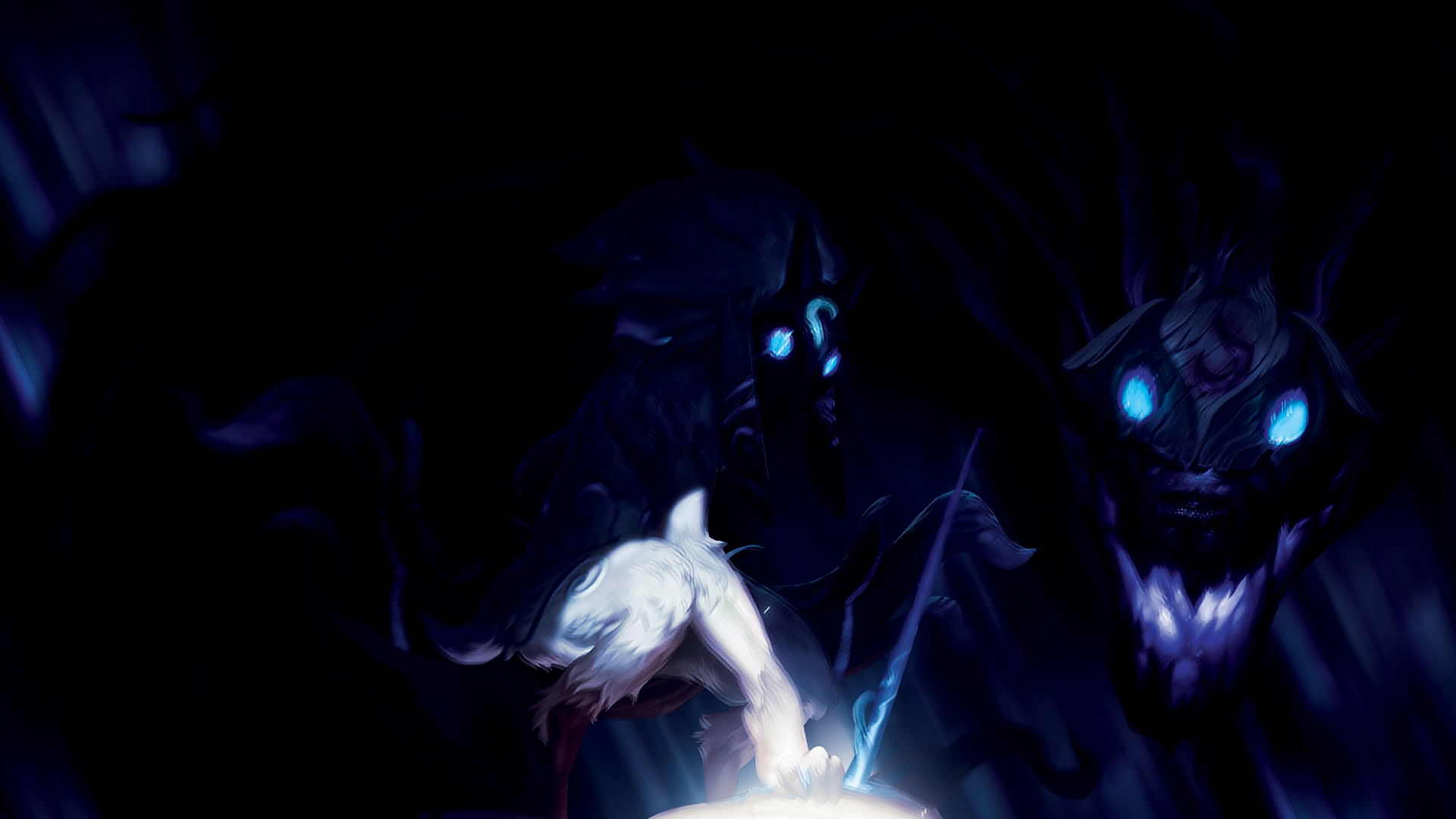 League Of Legends Kindred The Eternal Hunters By Nightfall1007