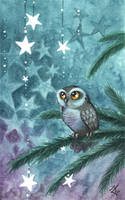 starlet Owl by kiriOkami