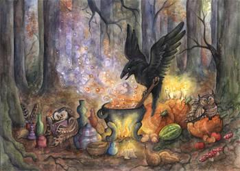 magisches Elixier by kiriOkami