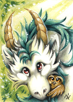 luck for Nenu - ACEO