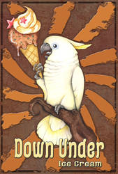 Down Under Ice Cream by kiriOkami