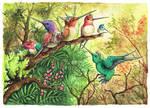 armed Hummingbirds