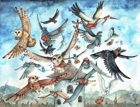 Post Birds