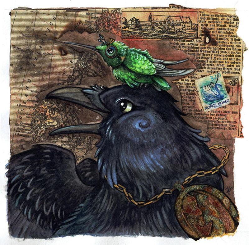 Birdfriends by kiriOkami