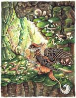 Mushroomwood by kiriOkami
