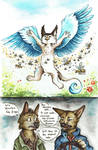 Castiel and the Bees  Furrys