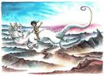 Luckdragon by kiriOkami