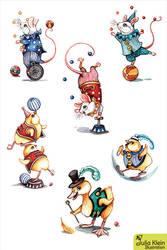 circus by kiriOkami