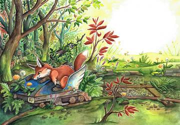 Fox lost amusement park