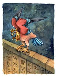 egyptian falcon