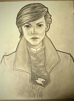 Dishonored 2 Emily quick sketch - Gabriel by JobertDrawings