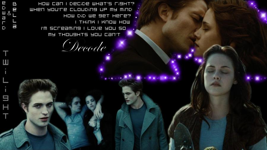 Twilight - Bella and Edward by XanderBlack on DeviantArt Paramore Decode Lyrics