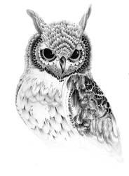 Ornate Owl by JeremyEdenArt