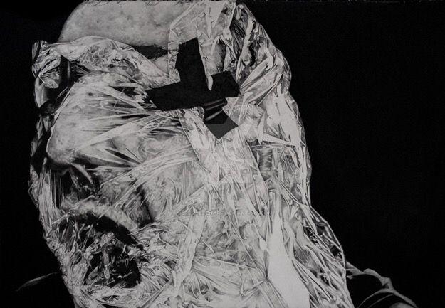 Self Portrait in Plastic by JeremyEdenArt