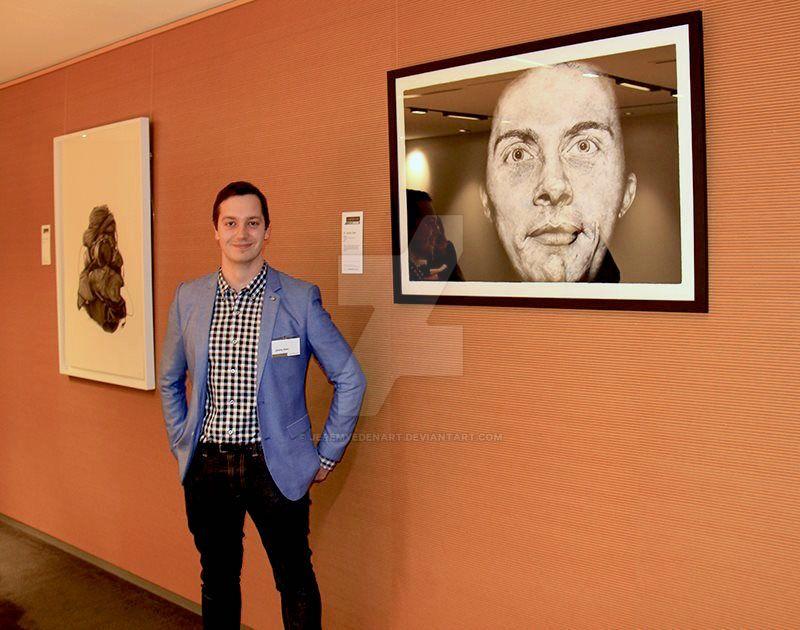 Clayton Utz Art Award opening by JeremyEdenArt
